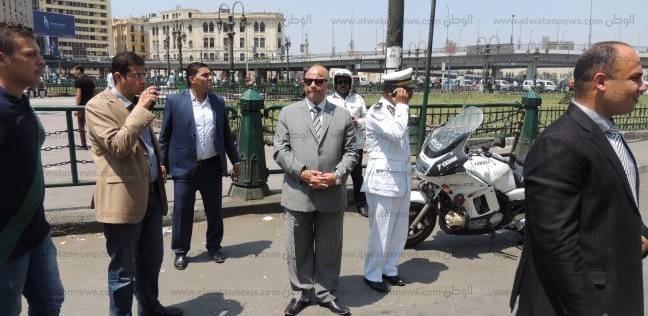 مدير أمن القاهرة يتفقد الخدمات المرورية في ميادين العاصمة