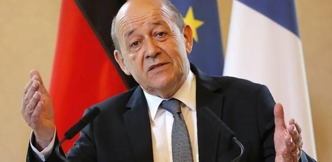 وزير خارجية فرنسا يدعو لعدم استثناء أي منطقة عراقية من إعادة الأعمار