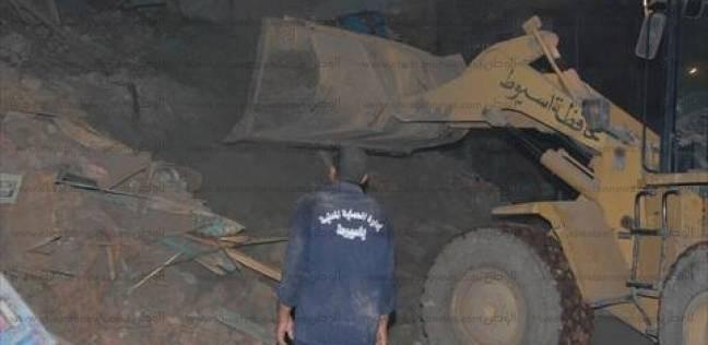 انتشال آخر ضحايا العقار المنهار في الإسكندرية