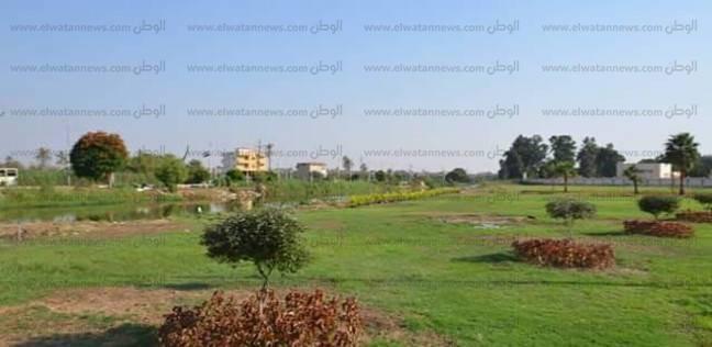تغطية طريق الترعة الشرقاوية بكفر سعد بطول 400 متر