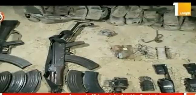 عاجل| ضبط 3 بنادق آلية وبندقيتي خرطوش بحوزة عناصر إرهابية بالعريش