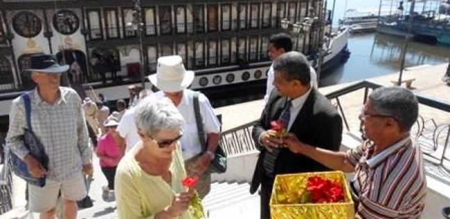 وصول 50 سائح إنجليزي الجنسية إلى سوهاج
