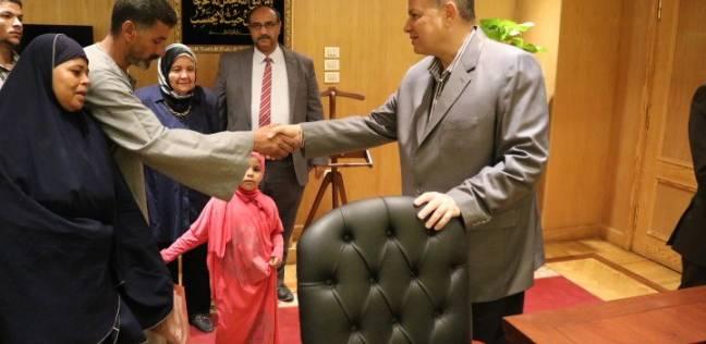 محافظ الفيوم يوافق على إطلاق اسم الشهيد مصطفى عبدربه على إحدى المدارس