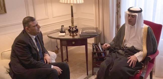 """وزير الخارجية السعودي يعقد اجتماعا ثنائيا مع المنسق العام لـ""""المفاوضات السورية"""""""