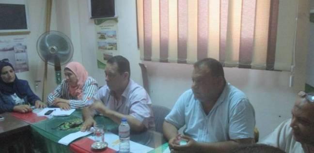 اجتماع تنفيذي بمركز المنصورة لسرعة حل مشاكل المواطنين