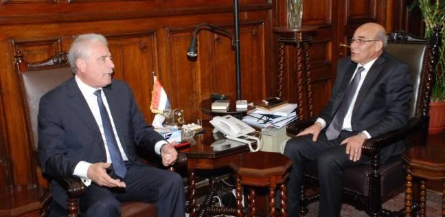 """""""البنا"""" يبحث سبل تحقيق التنمية الزراعية الشاملة بجنوب سيناء"""