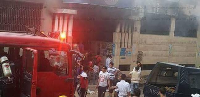 السيطرة على حريق بشقة في عقار بالدقي دون إصابات بشرية