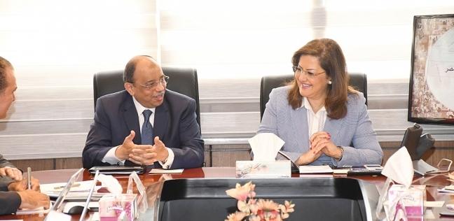 وزيرا التخطيط والتنمية المحلية يبحثان برنامج تنمية الصعيد