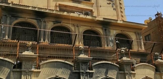"""""""الوطن"""" أمام مقر الإخوان المهجور.. وجيران """"الجماعة"""": شاركنا بالاستفتاء"""