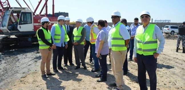 الغضبان يتفقد أعمال إنشاء محطة معالجة الصرف الصناعي بجنوب بورسعيد