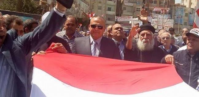 مسيرة بأشمون احتفالا بالانتخابات ولدعوة المواطنين للمشاركة
