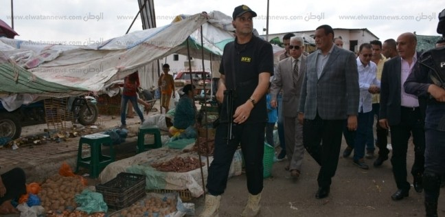 محافظ البحيرة يوجه بنقل سوق عزبة سعد بدمنهور للقضاء على الزحام