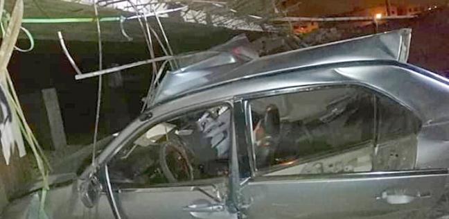 مصرع 3 أشخاص وإصابة 6 آخرين في تصادم 3 سيارات بالبحيرة