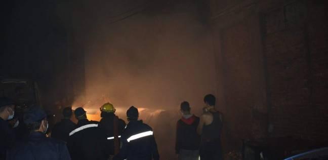 إخماد حريق بمجلس الدولة في الإسكندرية