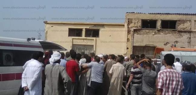 تشييع جثامين 4 من ضحايا انقلاب ميكروباص في ترعة الحاجر بالبحيرة