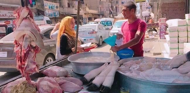 """حملة توعية للجزارين بعدم إلقاء مخلفات الذبح بـ""""البالوعات"""" بالدقهلية"""