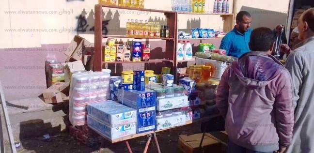 بالصور| قوافل لتوفير السلع الغذائية بأسعار مخفضة في الرياض بكفر الشيخ