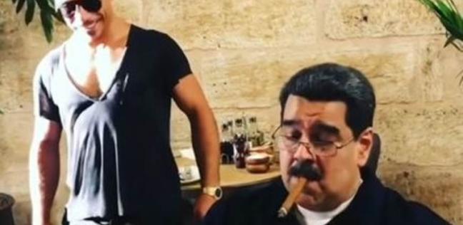 """فيديو لـ""""مادورو"""" وشيف """"رشة الملح"""" يثير غضب الفنزويليين"""