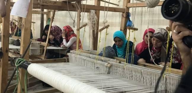 """""""مصر الخير"""" تفتتح مصانع توفر عمل لأصحاب الحرف اليدوية بأطفيح في الجيزة"""
