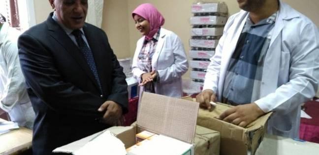 وكيل وزارة الصحة بالإسكندرية يتفقد القافلة الطبية المجانية بالظاهرية