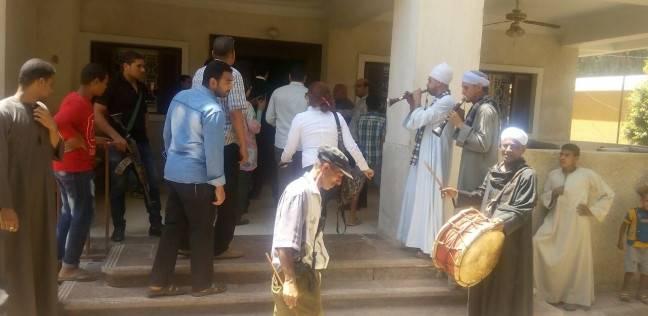 وزير التنمية المحلية يفتتح مديرية أمن سوهاج بالموسيقى العسكرية