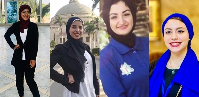رأس برأس .. عضوات اتحاد طلاب القاهرة يتحدثن لـ   بعد الفوز بنصف مقاعده - مصر -
