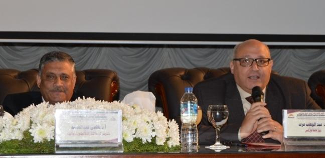 افتتاح مؤتمر كلية التربية الدولى الثالث بعنوان رؤى مستقبلية لتطوير التعليم و إعداد المعلم