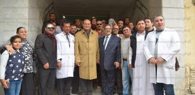محافظ مطروح يفتتح العناية المركزة بمستشفى النساء والتوليد بعد تطويرها