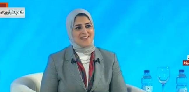 """وزيرة الصحة: مسعف أصيب بـ4 طلقات برأسه في العريش.. """"دول أبطال حقيقيين"""""""