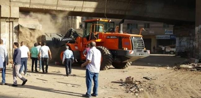 مصر   محافظ الجيزة: رفع 210 طن قمامة وإزالة الإشغالات المخالفة بالعمرانية