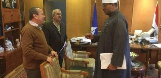 محافظ دمياط يبحث مع رئيس المنطقة الأزهرية الجديد تطوير العملية التعليمية
