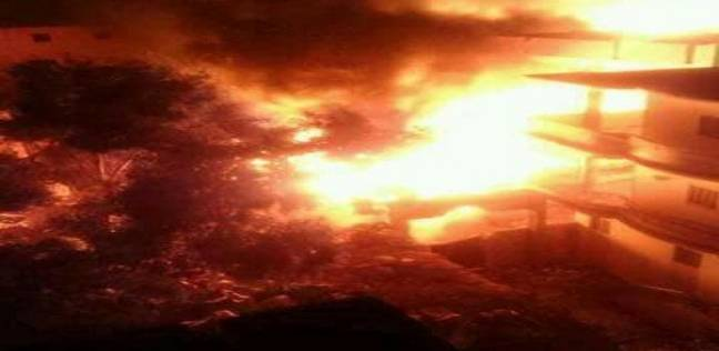 """النيابة تقرر انتداب المعمل الجنائي فى حريق """"الواحات"""""""