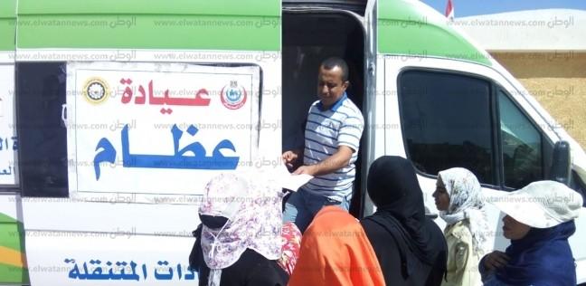 """الكشف على 1291 مواطنا في قافلة طبية مجانية بقرية """"31 بصار"""" بالدقهلية"""