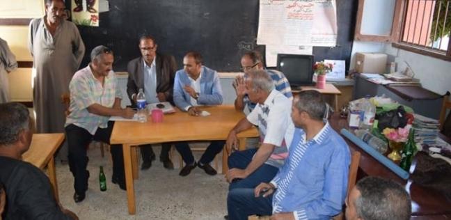 رئيس مركز أبوقرقاص بالمنيا يتابع استعدادات المدارس للعام الجديد