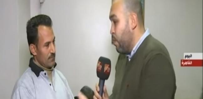 """وليد مرضي عن إنقاذه ضحايا محطة مصر: """"غطيت ست وبنتها عرتهم النار"""""""
