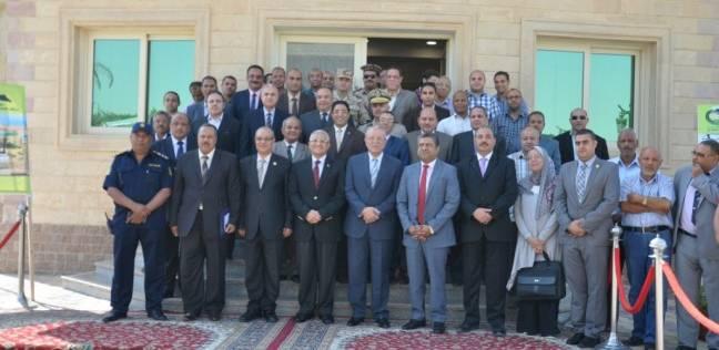 رئيس جامعة المنيا يشهد ورشة لـ«مواجهة السيول»