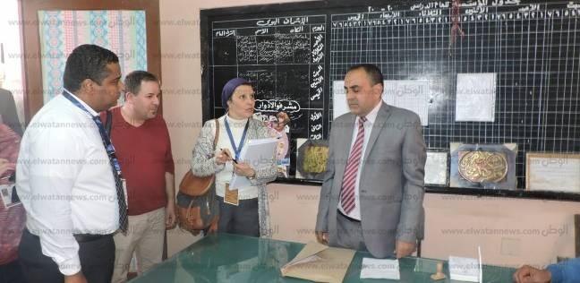 وفد من الاتحاد الأوروبي والدول العربية يتابعان الانتخابات ببني سويف