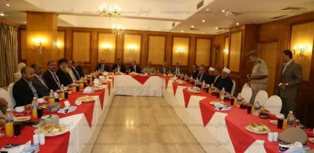 """""""الهجان"""" يشارك في حفل إفطار مطرانية قنا تحت شعار """"الوحدة الوطنية"""""""