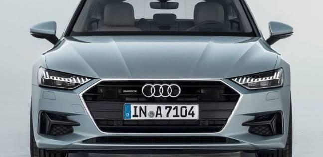 شركة أودى تفصح عن سيارتها A7 2019 الجديدة