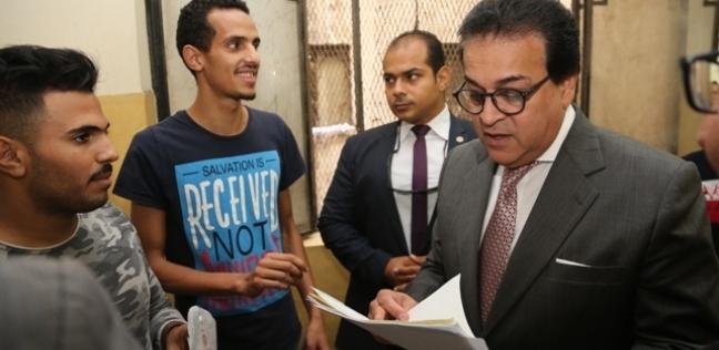 وزير التعليم العالى يتابع أعمال لجنة مسابقة اختيار أفضل جامعة