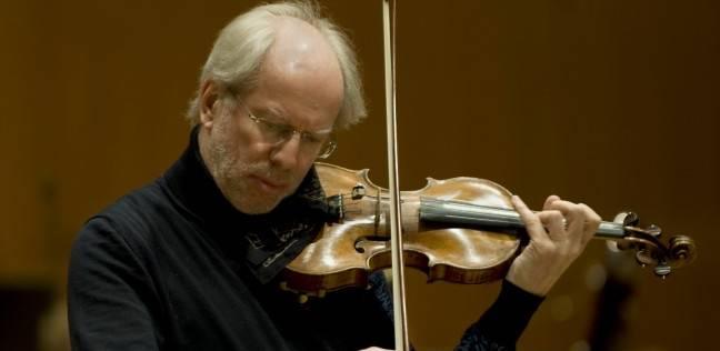 عازف الكمان الأول في العالم على مسرح مكتبة الإسكندرية 6 نوفمبر