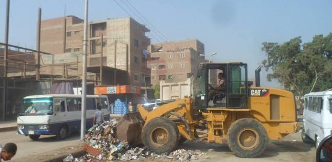 «نظافة الجيزة»: تنظيف وتجميل شارعي أحمد عرابي و6 أكتوبر بالبراجيل