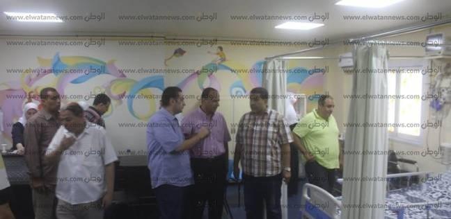 بالصور  رئيس مدينة دسوق خلال جولته: المستشفى العام به نقص في الأدوية