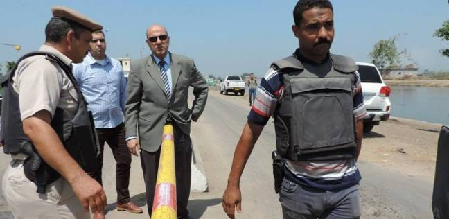 مدير امن دمياط يتفقد الخدمات والأقوال الأمنية بالطريق الدولي الساحلي