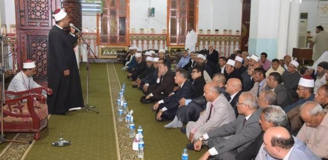 محافظ بني سويف يحتفل بالعام الهجري الجديد في مسجد عمر بن عبدالعزيز