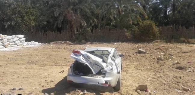 """إصابة شخص خلال حادث مروري في الكيلو 25 بطريق """"الضبعة – القاهرة"""""""