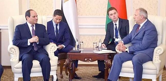 تزامنا مع زيارة السيسي.. من هو رئيس وزراء بيلاروسيا سيرجي روماس؟