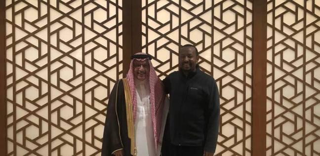 قطان يبحث مع رئيس وزراء أثيوبيا نتائج السلام مع إريتريا