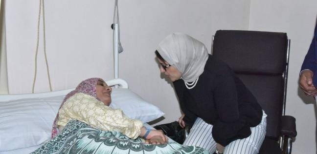 وزيرة الصحة في جولة تفقدية لمرضى قوائم الانتظار بعد خروجهم من العمليات