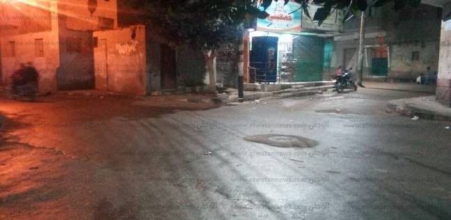 استمرار هطول الأمطار على محافظة بني سويف.. والشوارع تتحول لبرك طينية